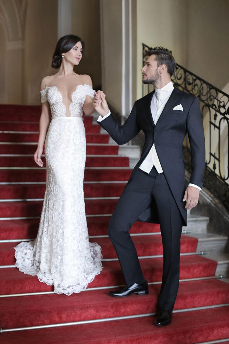 901021a18cf7a Trendy w męskich stylizacjach ślubnych na rok 2016 według Giacomo Conti. garnitury  ślubne 2016