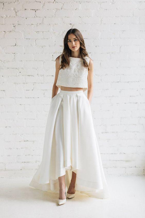 trend w świecie ślubnej mody