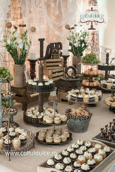 słodkie stoły weselne