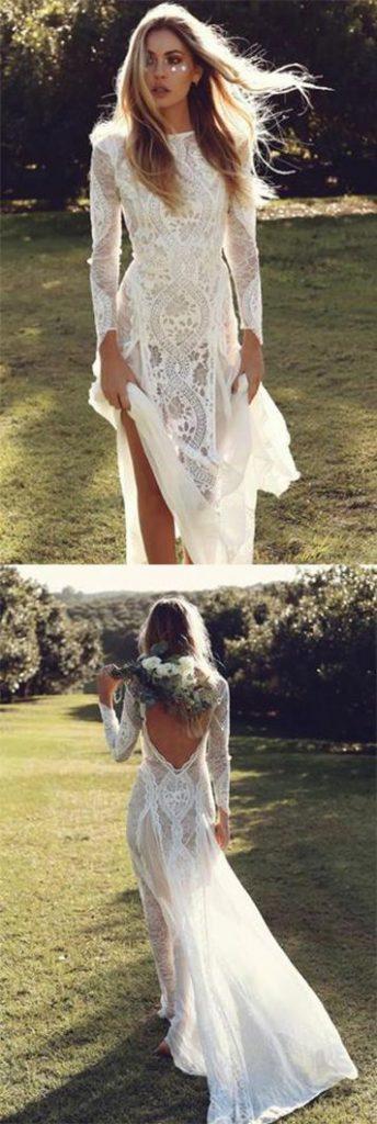 Suknia ślubna vintage