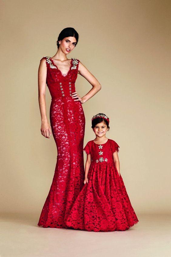 czerwone stylizacje na ślub