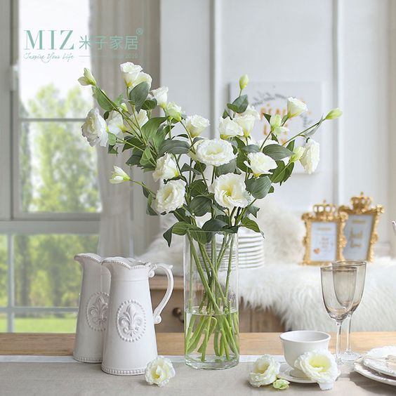 kwiaty na wesele Eustomy