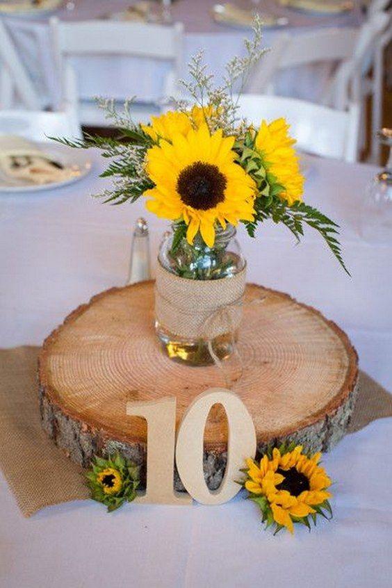 kwiaty na wesele Słoneczniki