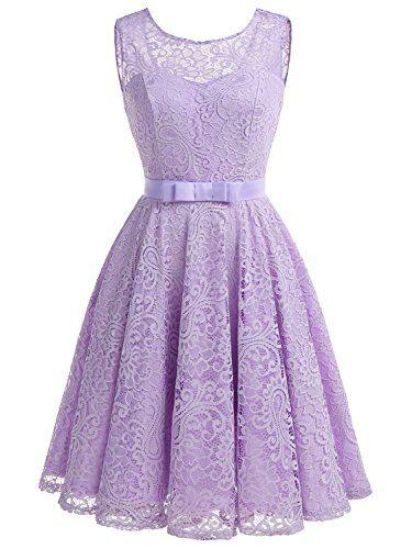 Fioletowe suknie druhen