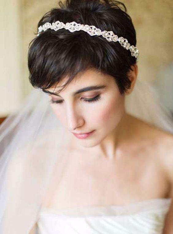 Najciekawsze Fryzury ślubne Dla Posiadaczek Krótkich Włosów