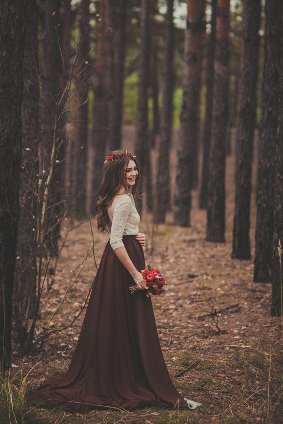 element ślubnego outfitu
