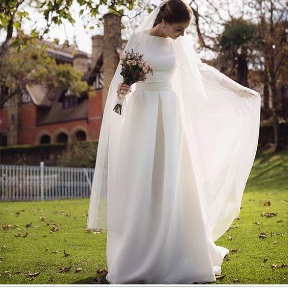peleryna na ślub