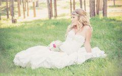 Romantyczna stylizacja Panny Młodej