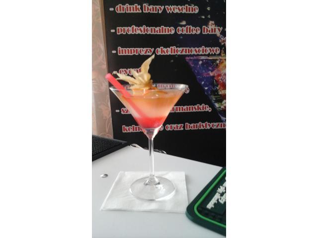 Barman na wesele, Podlaskie, Białystok, drink bar