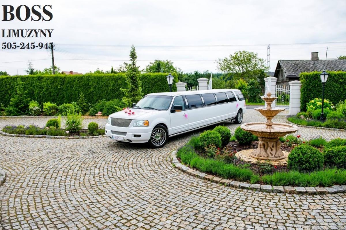 14-osobowe Limuzyny idealne aby przewieźć Państwa Gości na Ślub ! Zaskoczcie Gości Weselnych