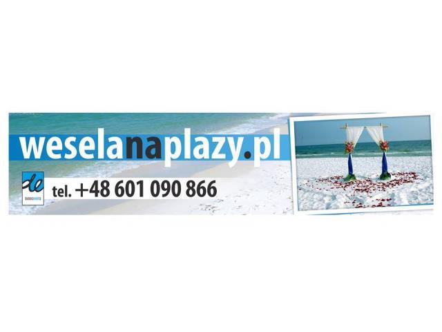 Wesela na plaży