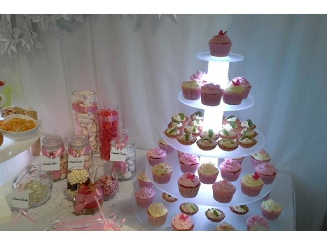 Podświetlana patera LED idealna na tort Cupcake - Szczecin