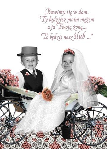 Zaproszenia Na ślub ślubne Ze Zdjeciem Narzeczonych śmieszne