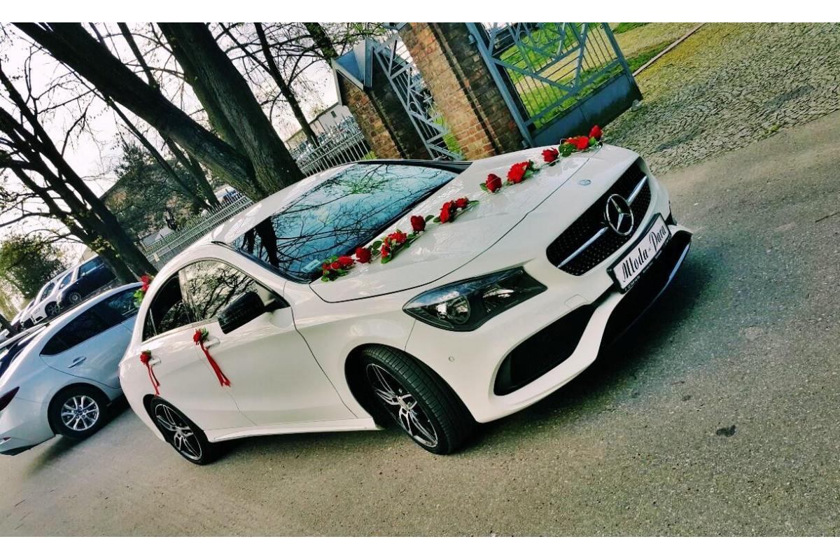 !! Limuzyny Mercedes CLA  C-Klasa BMW Audi // Wynajem samochodów do ślubu !!