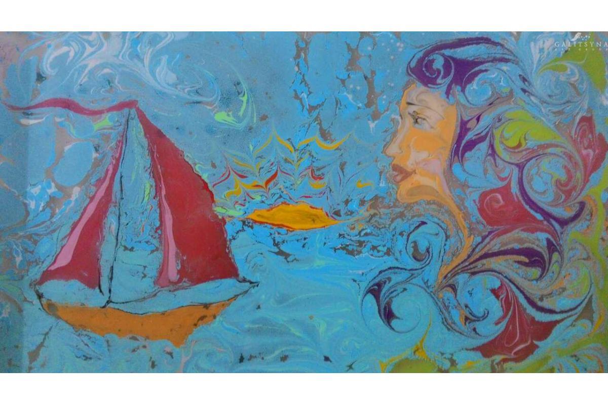 Niezwykły pokaz Malowania na Wodzie