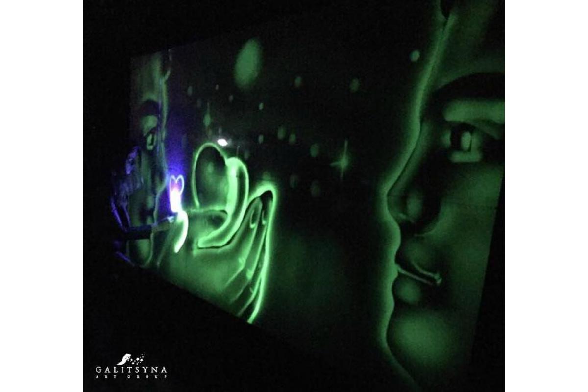 Unikalny pokaz Malowania Światłem od gwiazd
