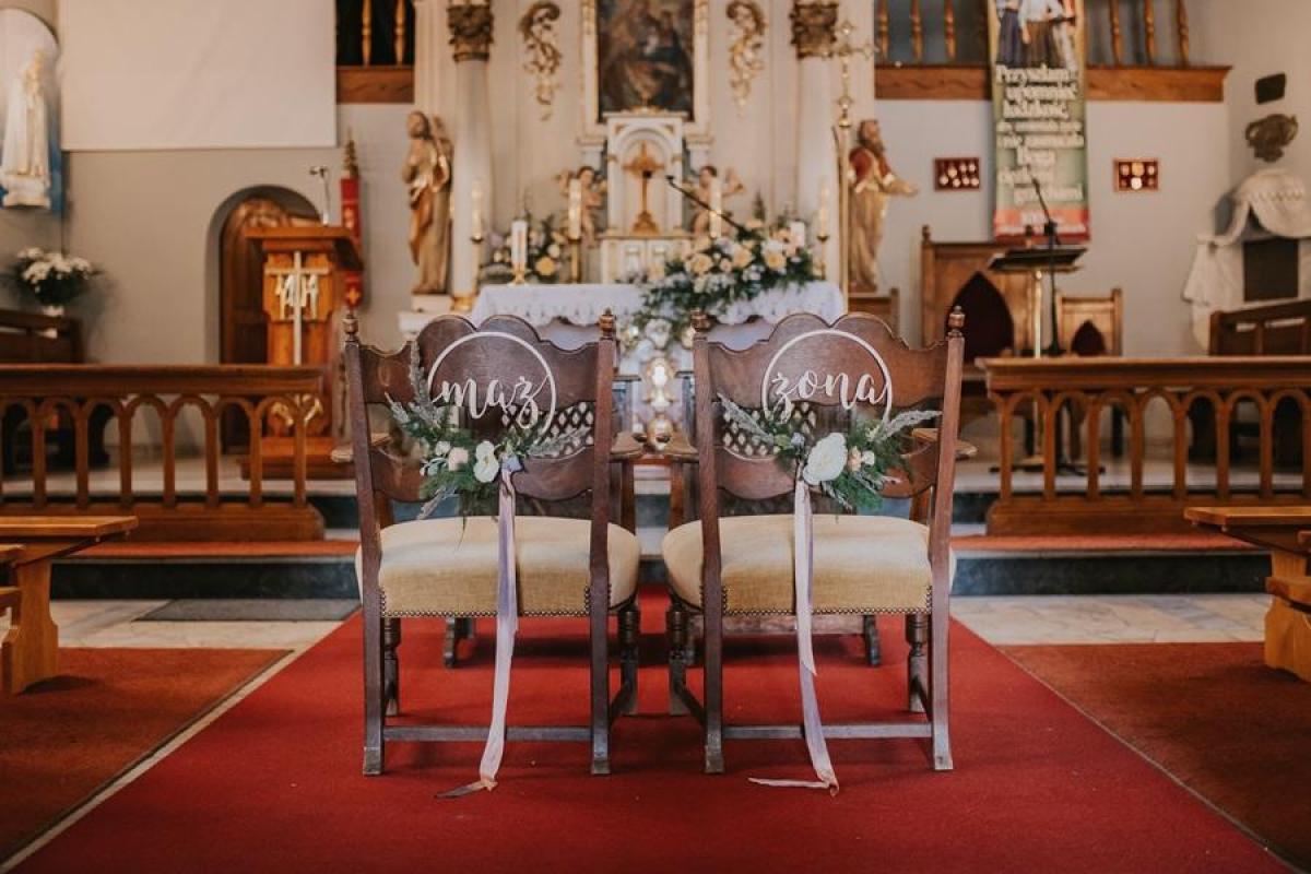 WIÓROWNIA -  drewniane dekoracje ślubne