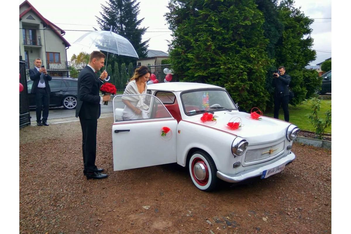 Piękny trabant ślub,   sesje zdjęciowe