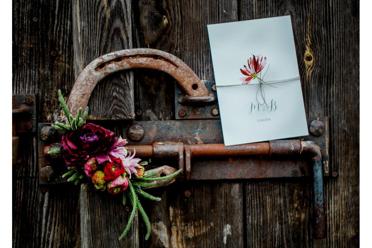 Akwarelą Malowane - papeteria ślubna