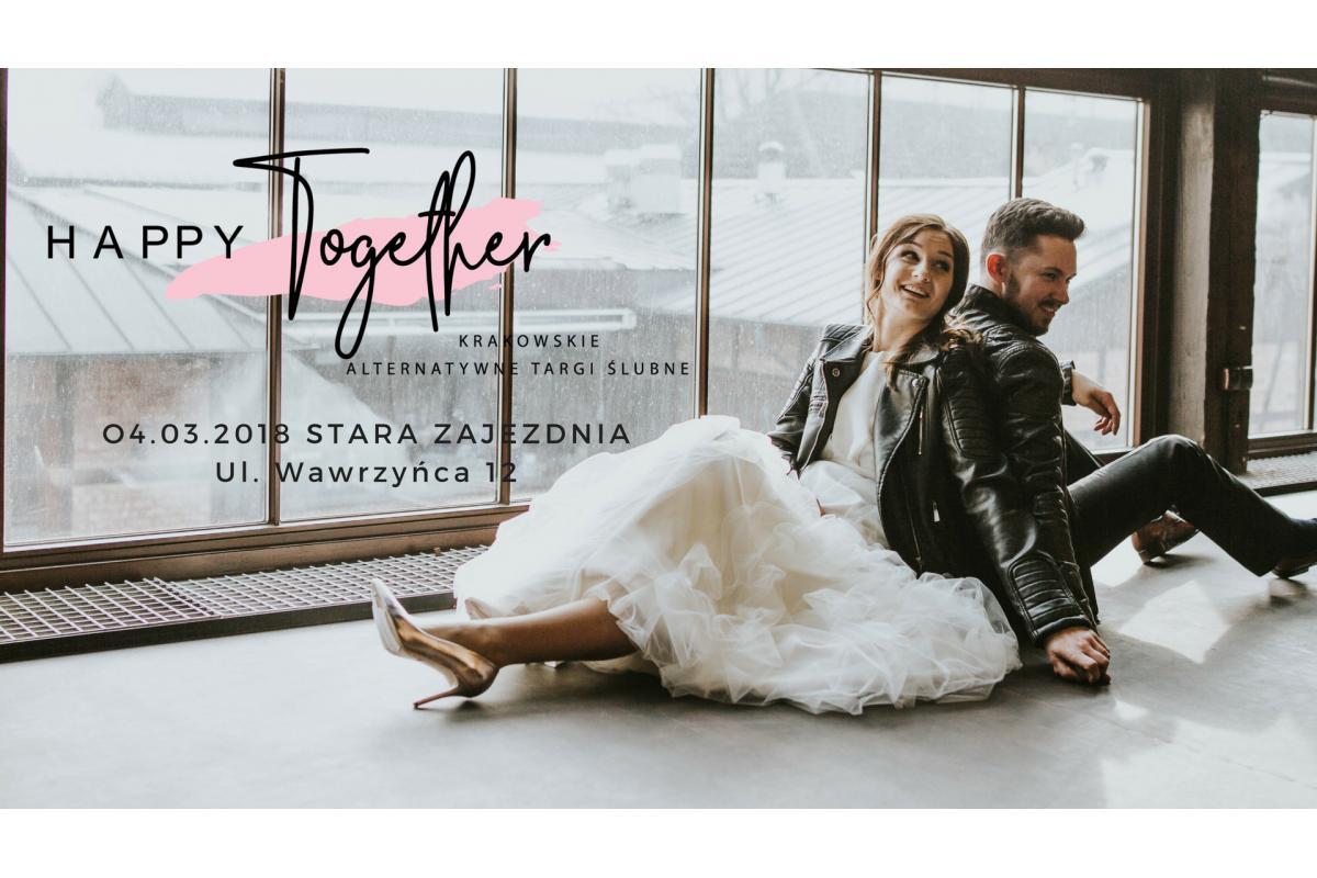 Krakowskie alternatywne targi ślubne Happy Together 04.03.2018
