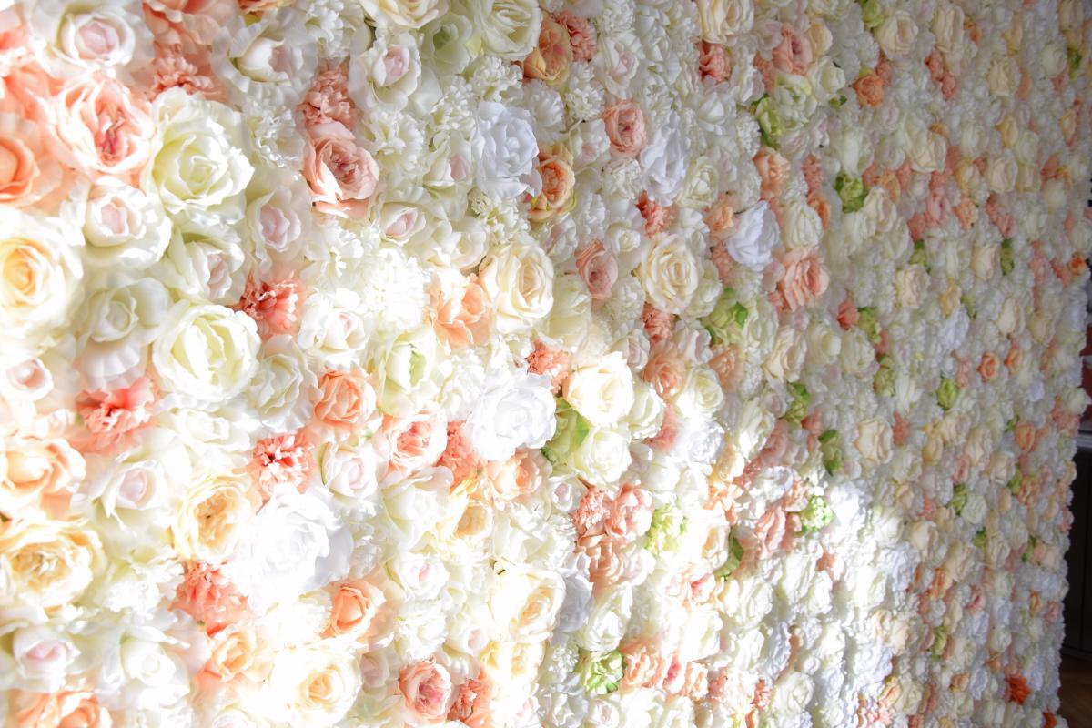 Ścianka kwiatowa
