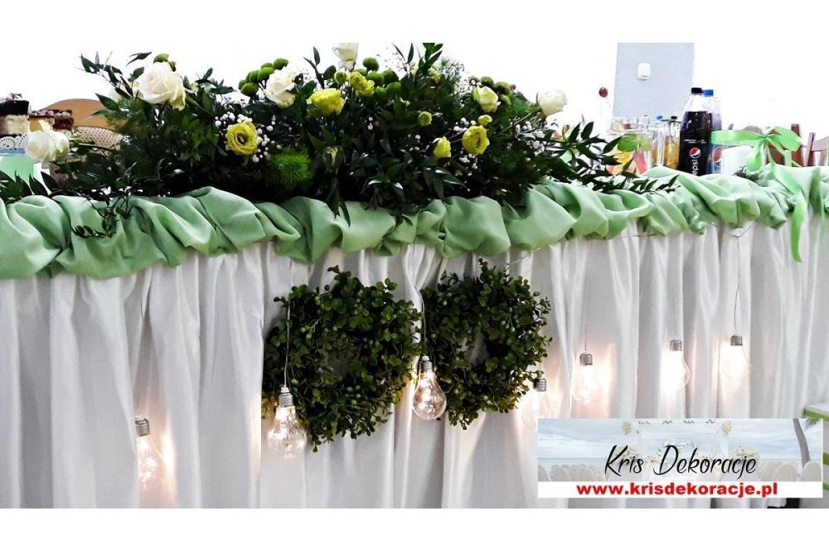 Dekoracje sal weselnych , dekoracje ślubne kościołów Gorlice, Jasło ,Krosno,Strzyżów, Nowy Sącz