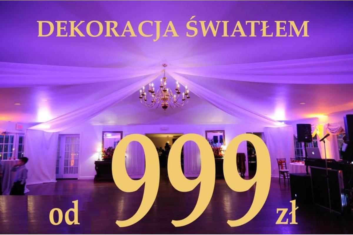 ciężki dym dekoracja światłem konfetti gołębie największy w Polsce napis LOVE profesjonalnie tani fo