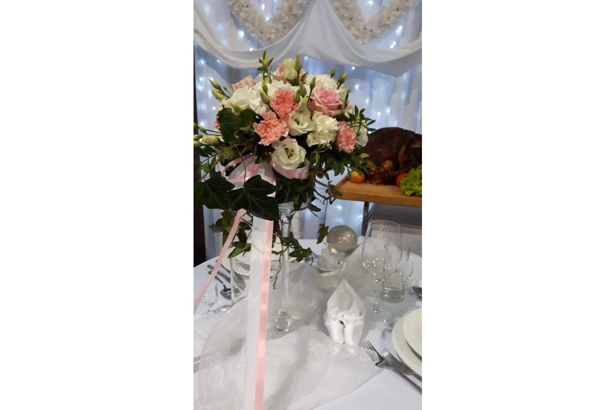 Florystyka ślubna - bukiet ślubny - dekoracja sali, kościoła i samochodu