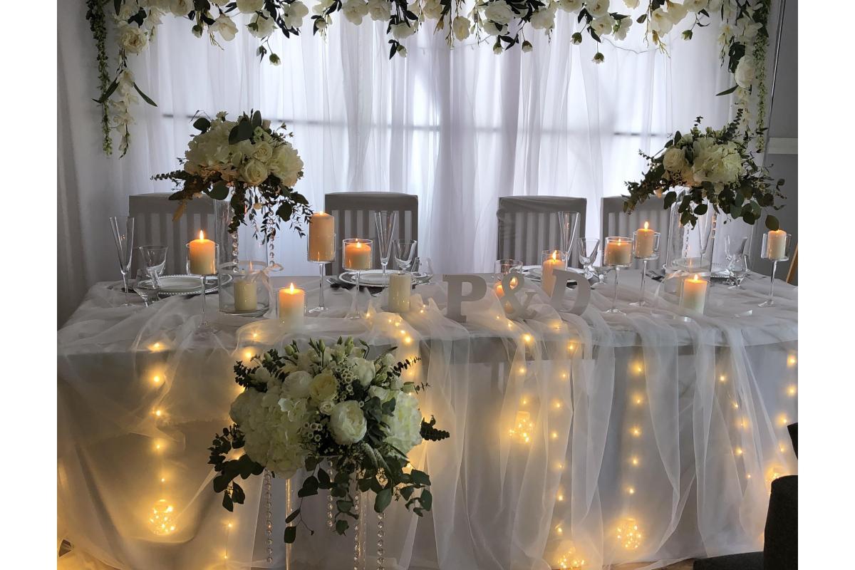 Dekoracje ślubne Do Samodzielnego Dekorowania Domu I Sal Weselnych