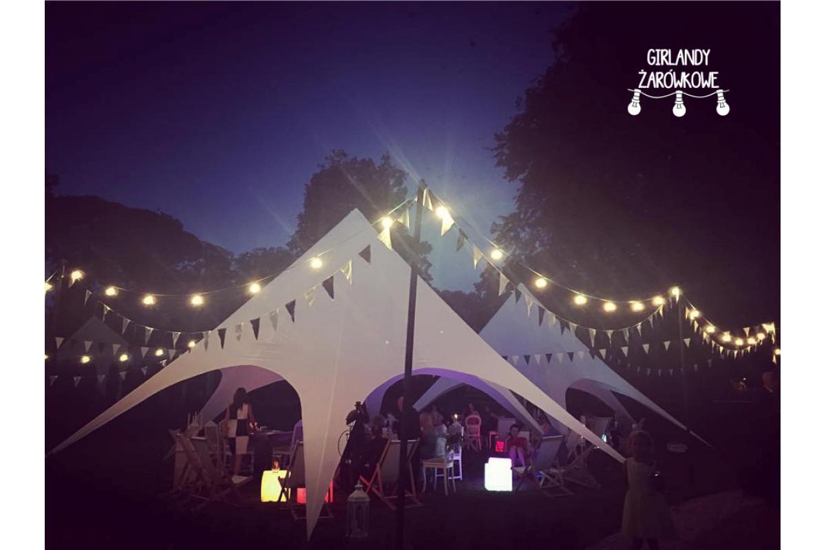 Girlandy Żarówkowa oraz lampki Fairy Lights - przepiękne oświetlenie na Waszym weselu!