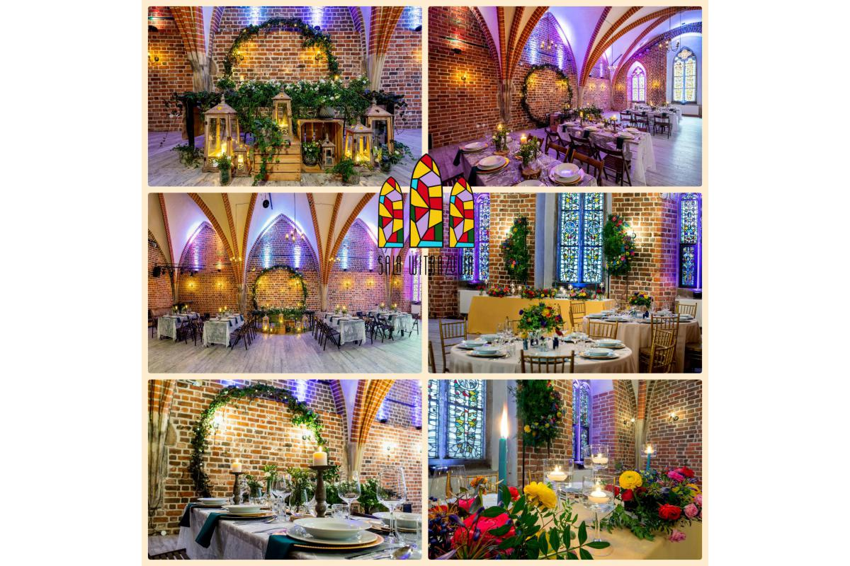 Sala Witrażowa - Twoje magiczne wesele
