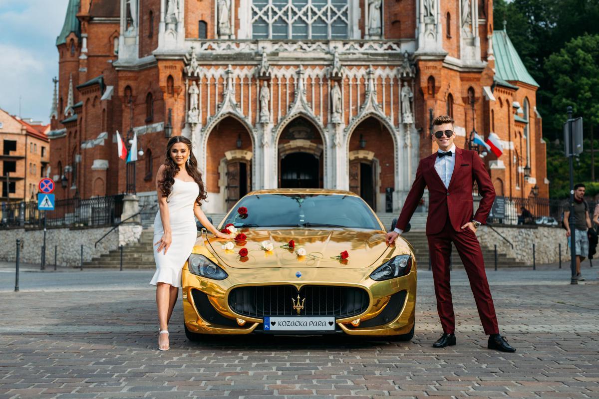 Złote Maserati GT - jedyna tak kozacka fura w mieście!