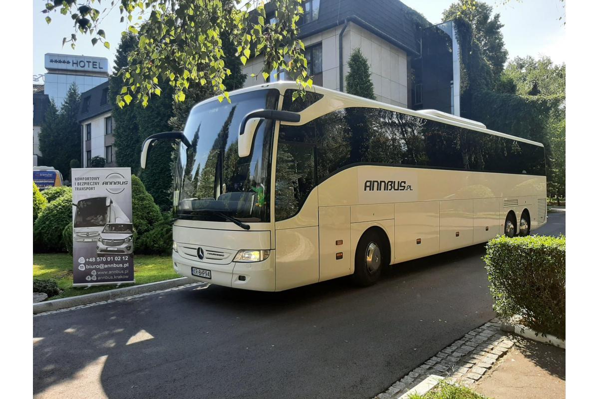 Annbus - komfortowy transport gości weselnych
