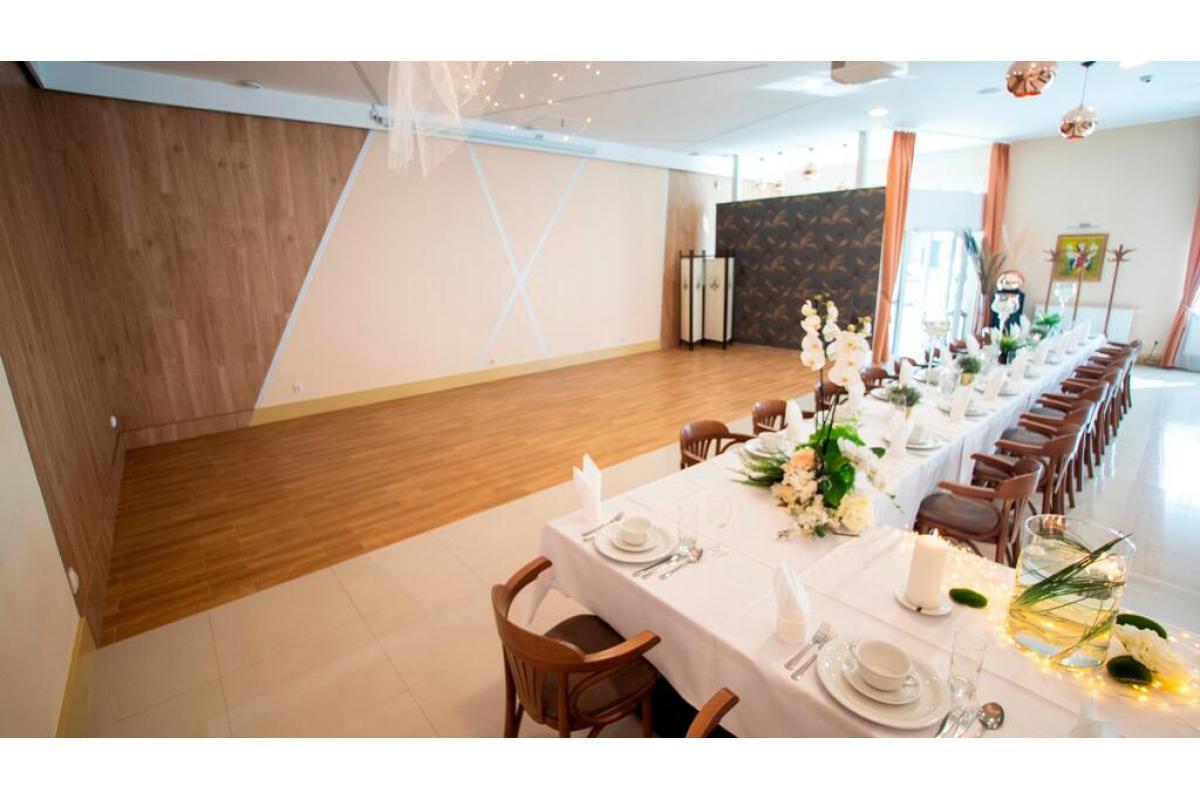 Sala weselna w restauracji Browaru Prost – Wrocław