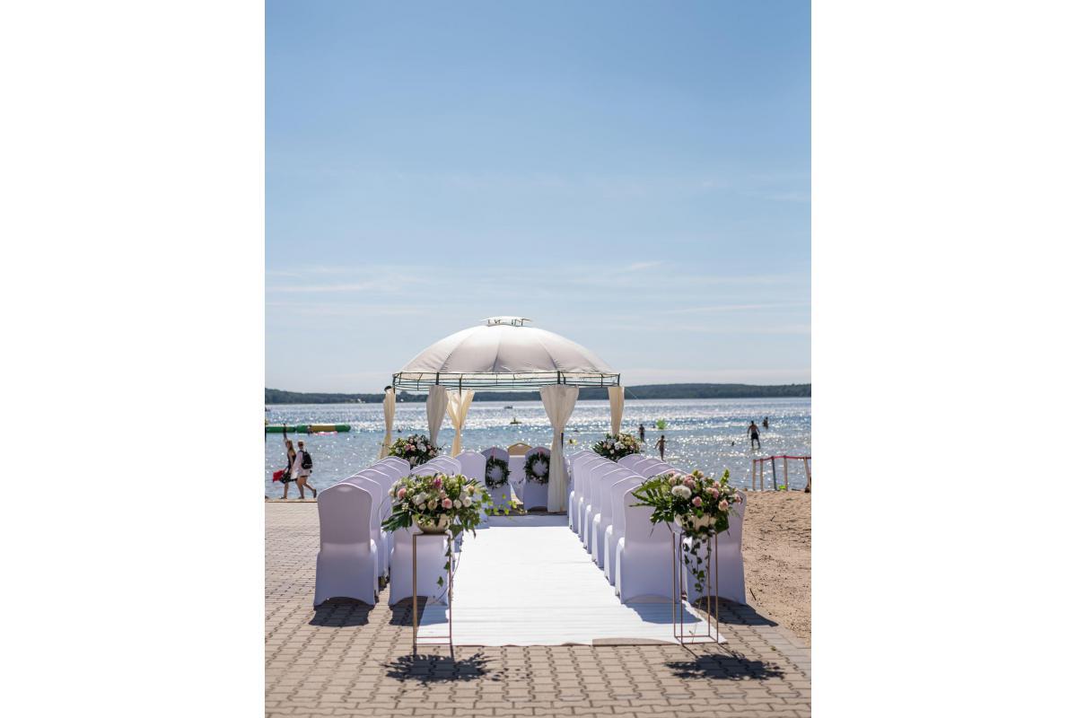 Hotel Sułkowski - ślub na plaży