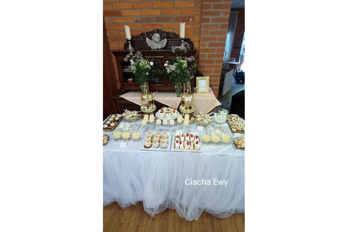 Słodki stół , tort weselny
