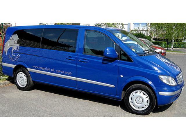 Transport przewóz Obsługa Wesel - rozwożenie gości
