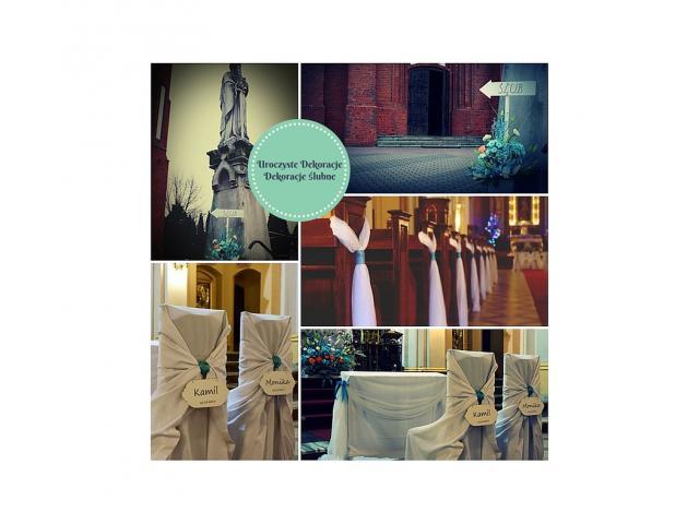 Dekoracje ślubne-Uroczyste Dekoracje