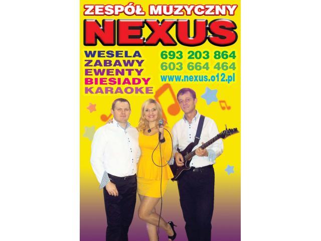 Zespół muzyczny na wesele z wokalistką Nexus