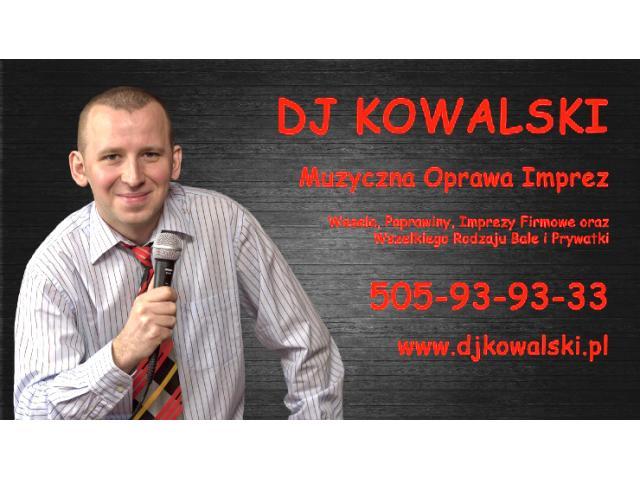 DJ Wodzirej na Wesele Poprawiny  ---DJ Kowalski---