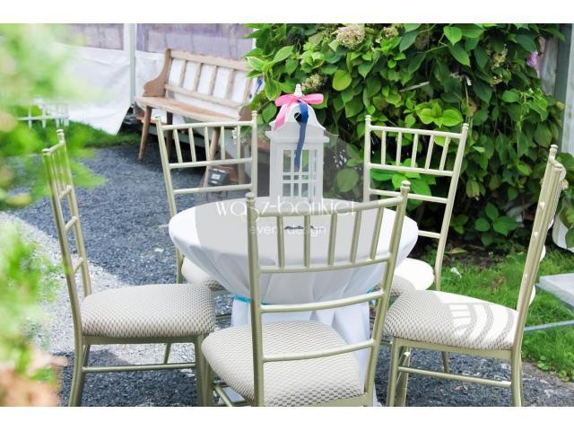 Amerykańskie krzesła chiavari - wynajem