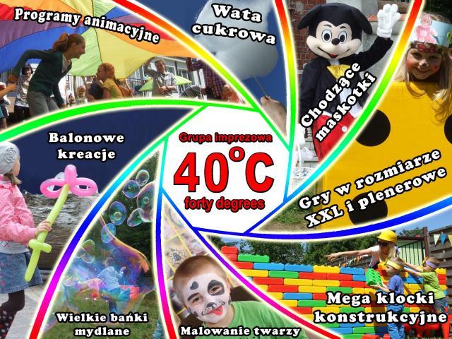 Animacje i atrakcje na imprezy dla dzieci