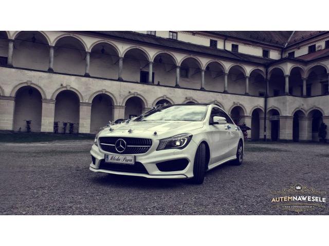 Mercedes CLA (AMG), Porsche Panamera / AutemNaWesele.pl