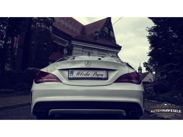 Mercedes CLA (AMG) auto na wesele do ślubu, wynajem / AutemNaWesele.pl