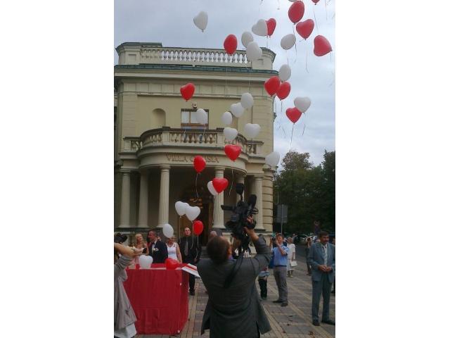 Balony z helem, dekoracje balonowe