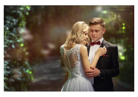 Martyna i Piotr Ciepiela - fotograf ślubny