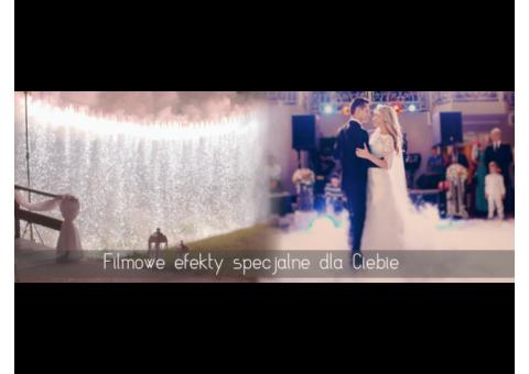 Filmowe efekty specjalne na Twoim weselu