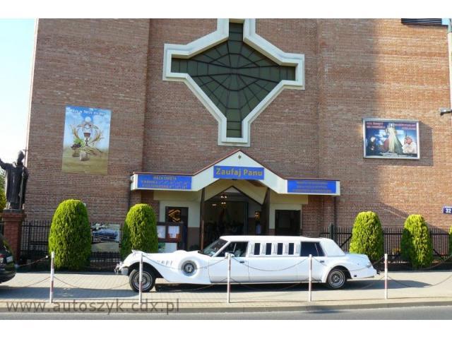 Auta,samochody do ślubu,limuzyny,excalibur,chrysler limo.