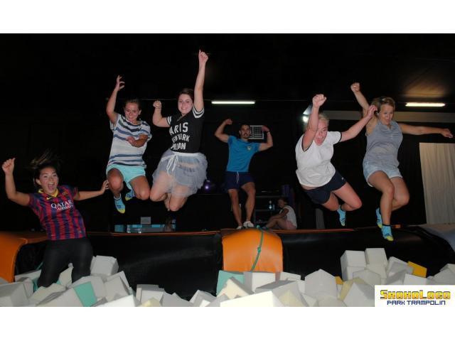 Wieczór panieński/kawalerski w parku trampolin