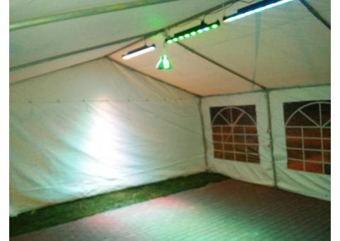 Wynajem namiotów bankietowych(imprezowo-okolicznościowe) woj.podlaskie